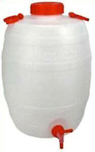 taniche in plastica per alimenti tanica botticella 25 lt in plastica con rubinetto per