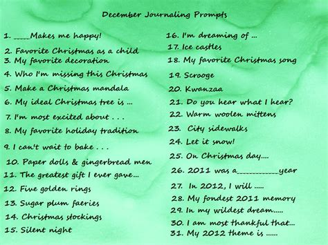 R Drawing Prompts by Angelia S Journals December Journaling Prompts