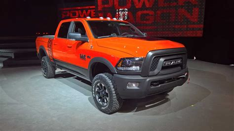 2018 dodge powerwagon 2018 ram power wagon auto car update