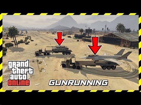 gta 5 gunrunning military dlc army vehicles, new weapons