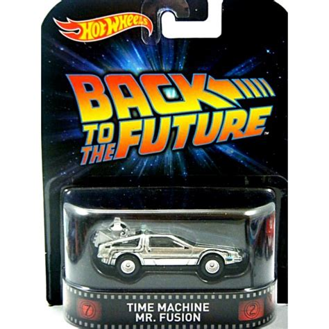 Hotwheels 1 64 Retro Back To The Future Time Machine Hover Mode 1 wheels retro entertainment back to the future