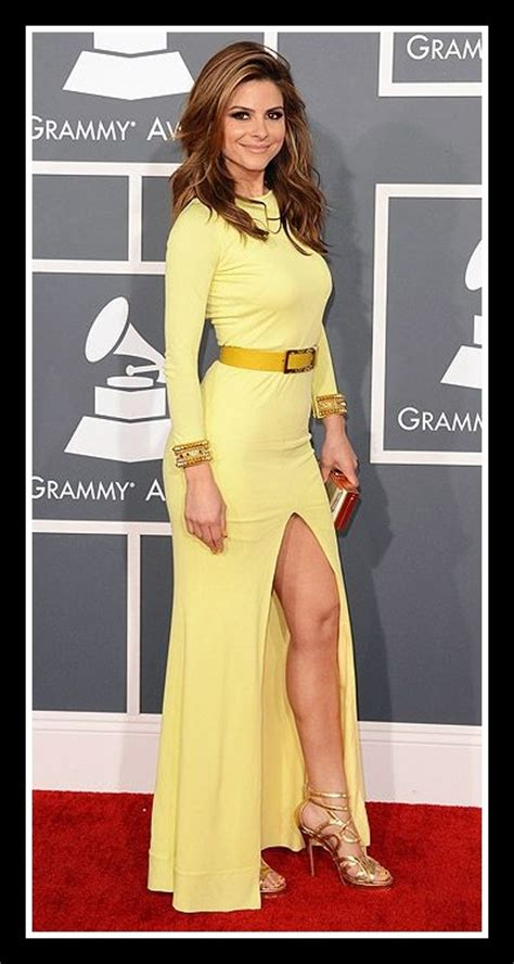 Marien Longdress the grammy awards 2013 fashion hits and misses loulou s