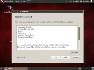 tutorial hack backtrack 5 instal backtarck 5 r3 hacker master