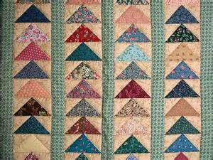 flying geese quilt wonderful carefully made amish