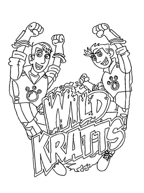 kratts coloring page kratts coloring pages best coloring pages for