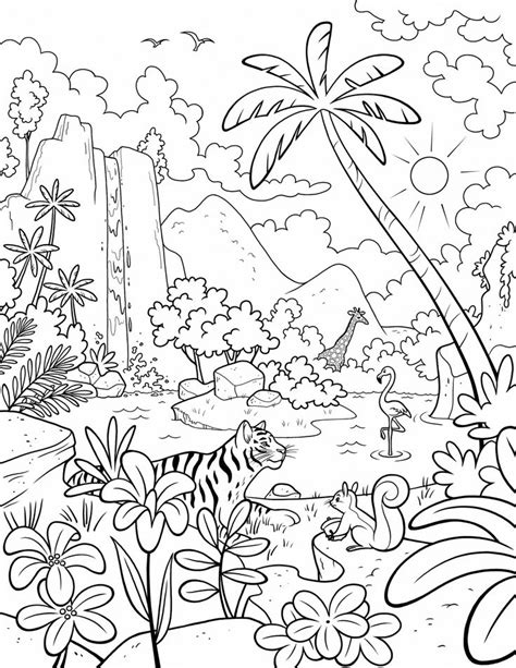 coloring pages for primary school our beautiful world a lds primary coloring page from lds
