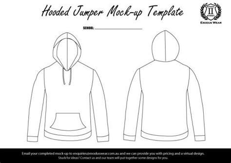blank hoodie design template exodus wear jumper design template design templates