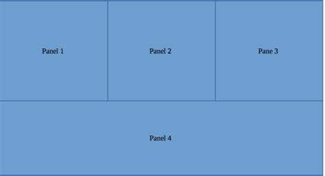 swing layout java how to create custom panel layout with swing