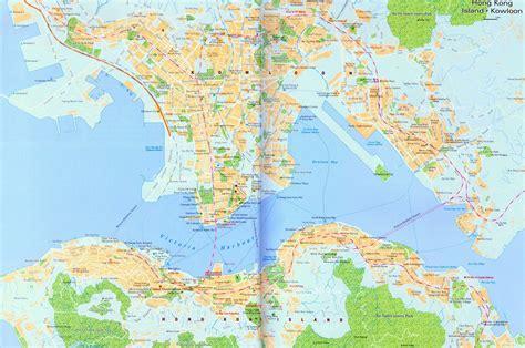 printable street map of hong kong detailed road map of hong kong city hong kong city