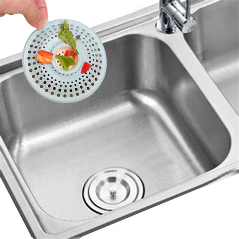 Kitchen Sink Drain Catcher Bath Hair Catcher Stopper Shower Drain Filter Trap Silione Sink Strainer Kitchen Ebay