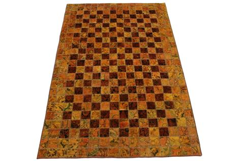 patchwork rug curry in 250x160cm 1001 2632 buy