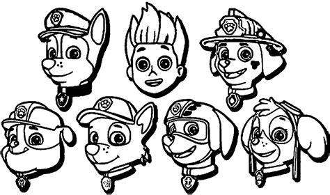 paw patrol team coloring pages paw patrol coloring pages tracker fun coloring pages