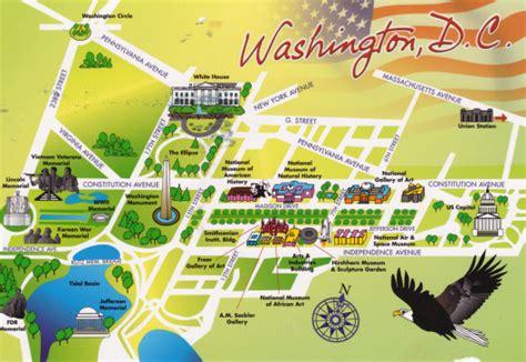 washington dc map landmarks washington dc deltiolog