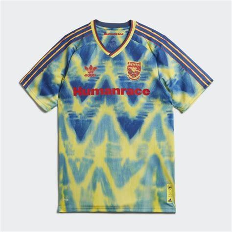 adidas  pharrell  arsenal humanrace shirt  kitman