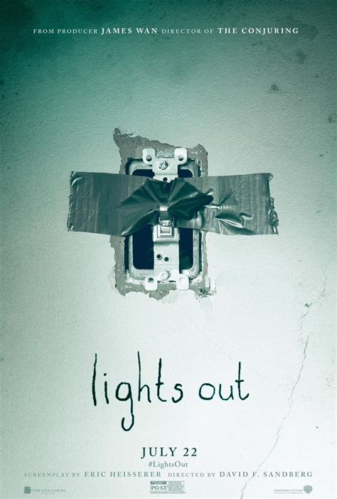 where the light is poster lights out trailer reveals wan s scary