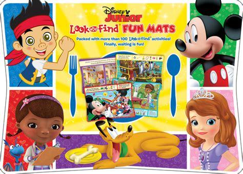 Disney Jr Mickey Mat - disney junior look and find mats deseret book