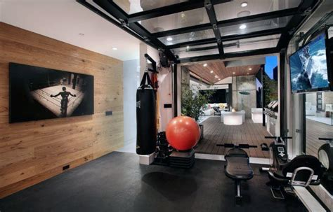 Top 40 Best Home Gym Floor Ideas   Fitness Room Flooring