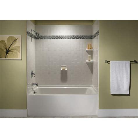 lowes wall tiles for bathroom shop american olean starting line white gloss glazed