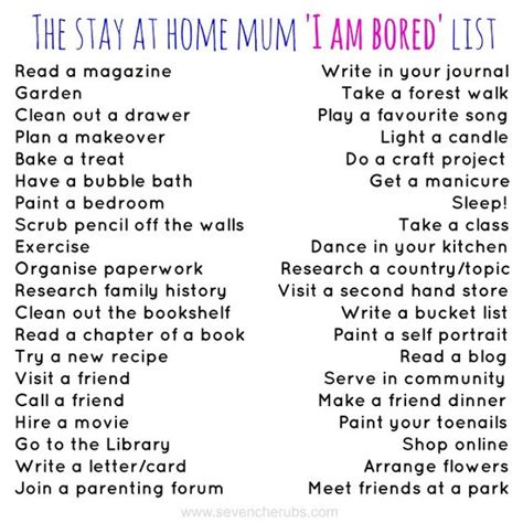 things to do when you re bored at home the stay at