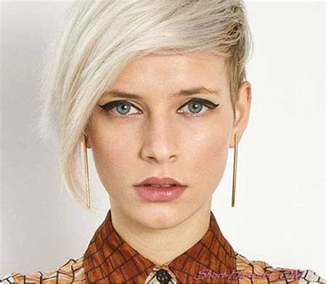 16 lovely short cuts for oval faces | short hairstyles