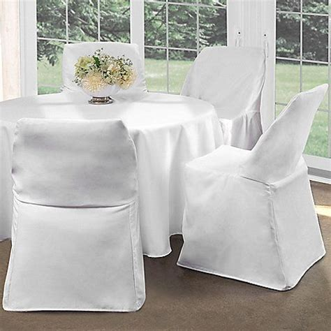 Folding chair covers 12 99 bed bath amp beyond quot i recommend keeping inexpensive folding chairs