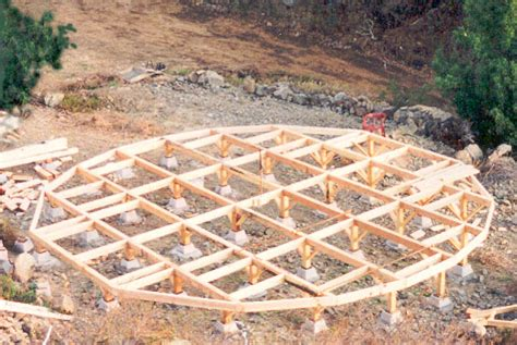Building A Tent Platform by 1994 Building Of Yurt In Big Sur California