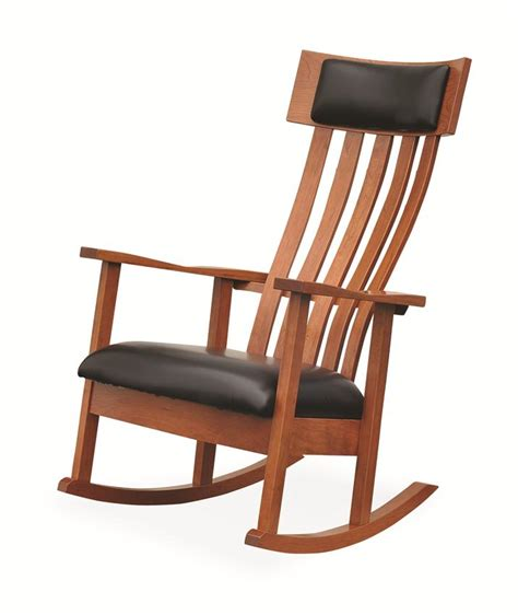 Amish Chair by Amish Modern Rocking Chair