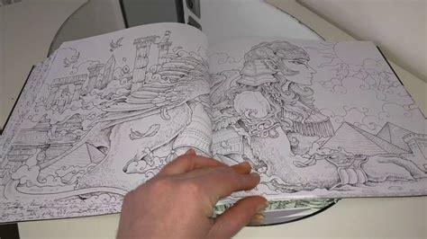 1539838811 livre de coloriage adulte avec livre de coloriage anti stress adulte mythomorphia youtube
