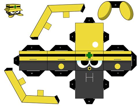Megaman Papercraft - pin pin cubeecraft on on