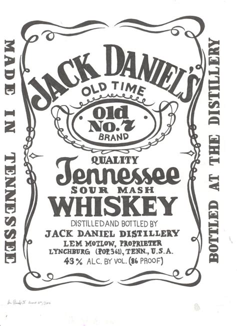 jack daniels vector graphic design pinterest