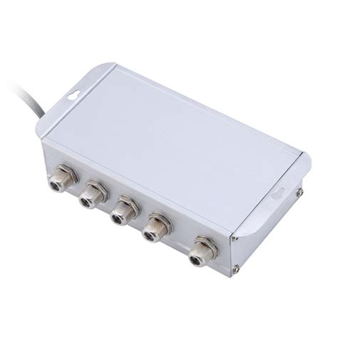 room splitter tv aerial signal booster 4 way lifier splitter send picture to other rooms tp ebay
