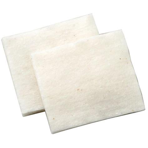 focusecig authentic japanese muji organic cotton pads 10 lembar white jakartanotebook