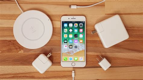 comparing iphone 8 charging speeds with fast charge wireless and more
