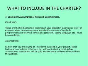 Client Service Charter Template by Project Charter Guide