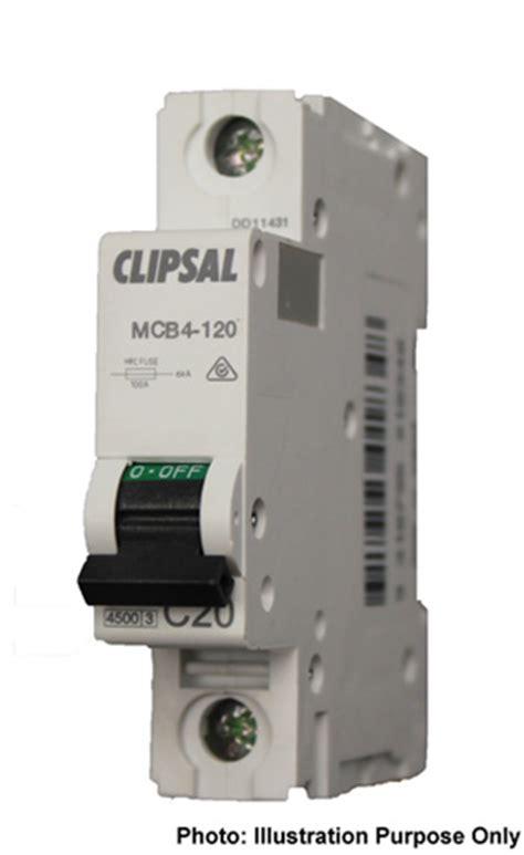 Sisir Mcb 1 Phase clipsal single phase mcb 16a 4 5ka
