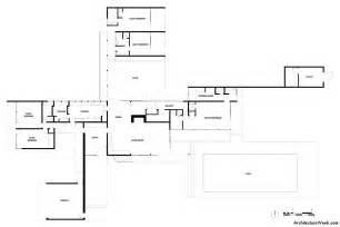 kaufmann desert house ground floor plan