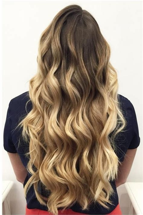 Waist Length Ombre | 20 sweet and stylish soft ombre hairstyles