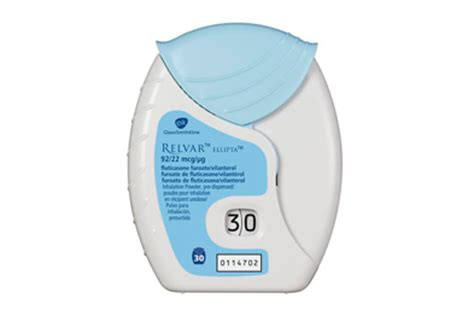 relvar ellipta: combination inhaler for asthma and copd