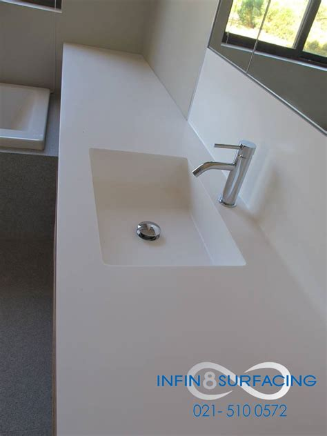 corian integrated basin our solid surface work infin8 surfacing