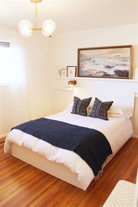 how to furnish a small bedroom how to decorate a bedroom simply and with style