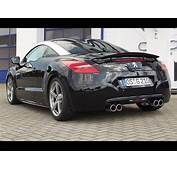 Peugeot RCZ 200 Tuning With Exhaust System  YouTube