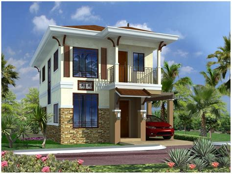 imagenes de casas minimalistas de dos pisos fotos de fachadas de casas de dos pisos sencillas