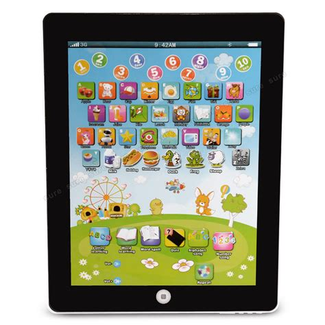 Kinder Auto Tablet by Kinder Tablet Spielzeug Lerncomputer Learning Pad