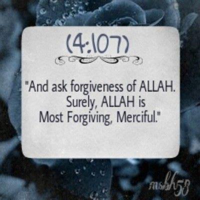 forgiveness  allah surely allah   forgiving merciful  quran