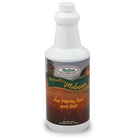 medina 32 oz molasses for plants turf and soil 100046967 the home depot
