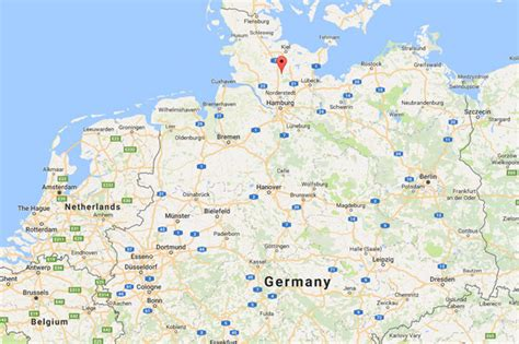 map northern germany afghan migrant accused of raping boy 4 in asylum centre