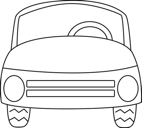 Black And White Car Clipart black and white car clip black and white car image