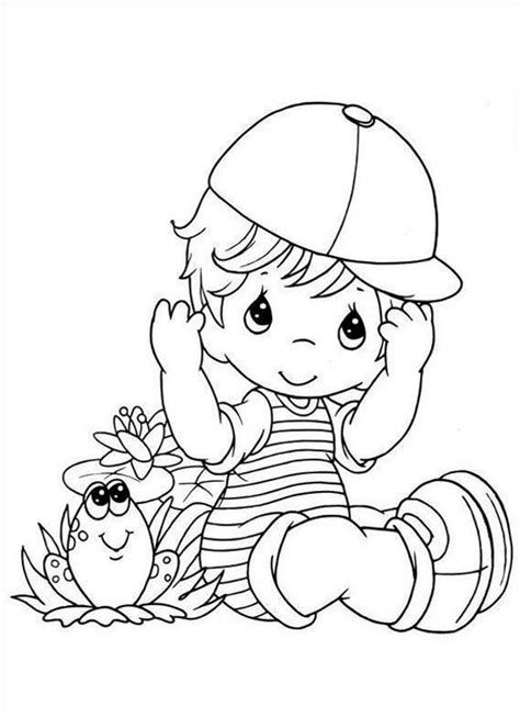 coloring page of baby boy free little baby boy coloring pages