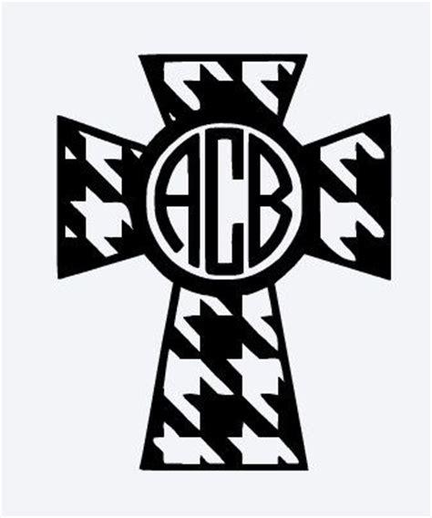 monogram cross cliparts   clip art