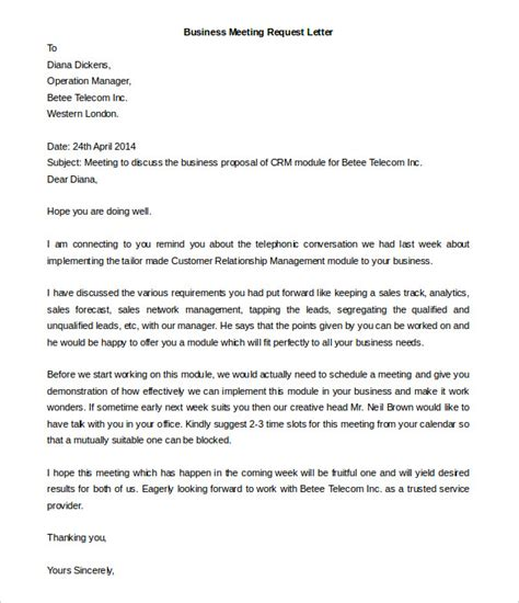 Request Letter Format Word Business Letter Template 44 Free Word Pdf Documents